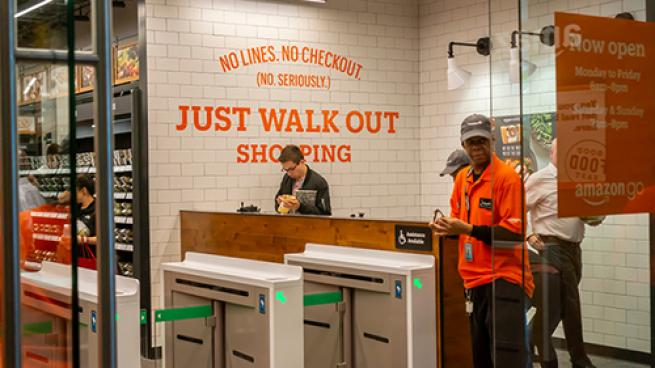 Amazon Go in NYC Walk Out Technology