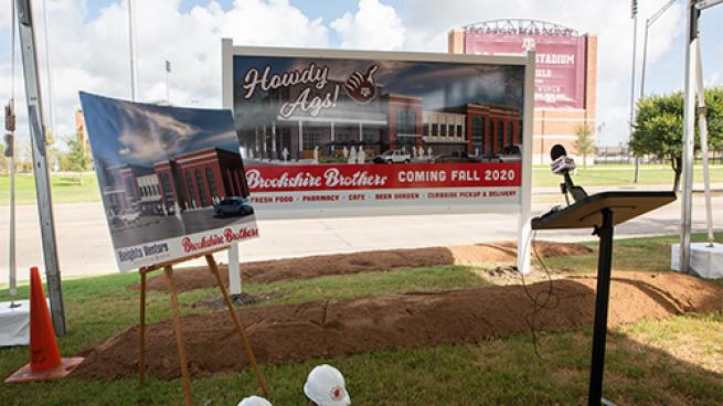 Brookshire Brothers Plans College Campus Location