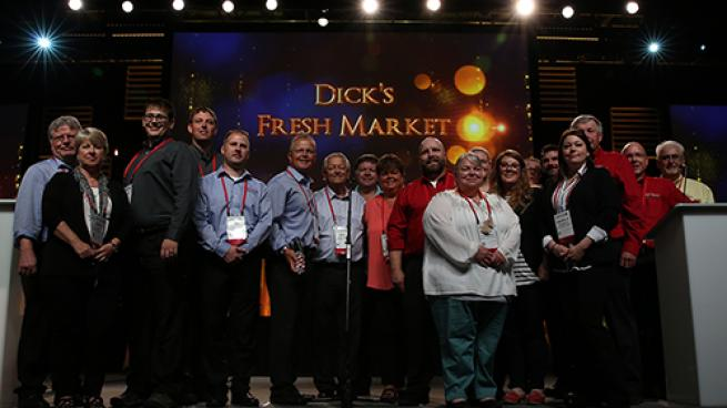 Dick's Fresh Market Named UNFI's 2019 Grand Master Marketer