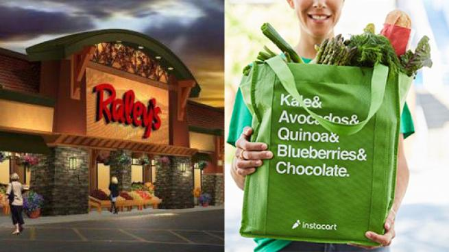 Raley's, Instacart Partner on Ecommerce Order Delivery