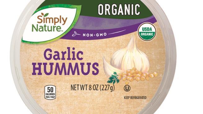 Aldi Simply Nature Organic Hummus