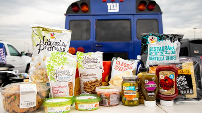 Giants Stop & Shop Tailgate Partner