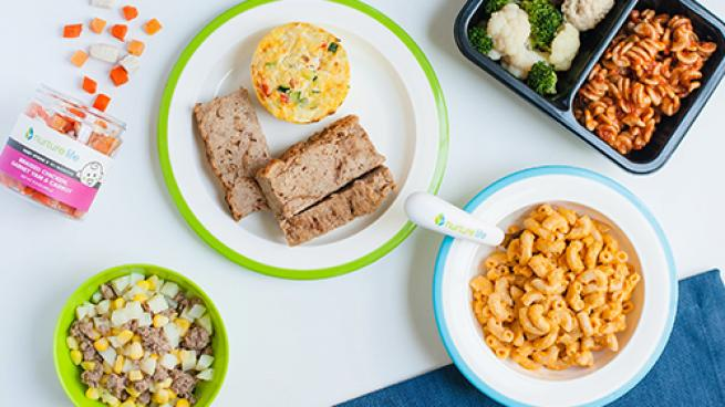 Peapod, Nurture Life Partner for Family Food Options