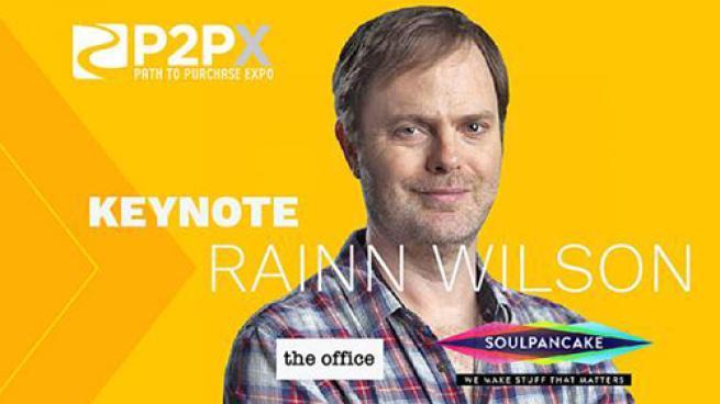 Rainn Wilson to Keynote Path to Purchase Expo