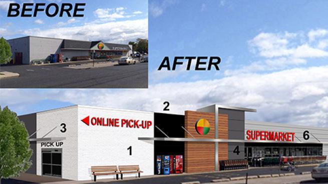 Strategic Supermarket Design Breathes New Life
