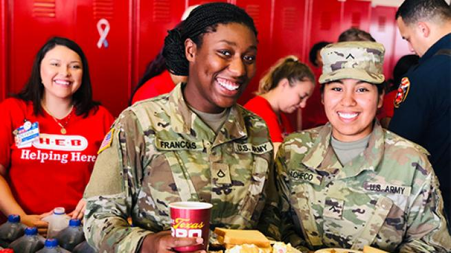 H-E-B Earns Honor as Top Workplace for Vets