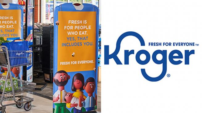 Kroger Unveils 'Fresh for Everyone' Rebrand