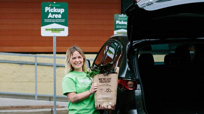New Seasons Offers Same-Day Grocery Pickup via Instacart