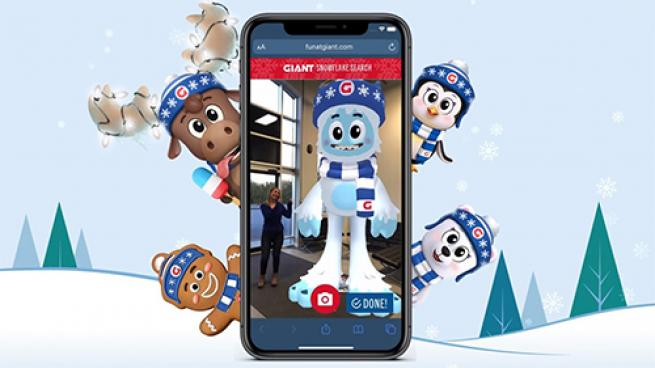 Augmented Reality Makes Shopping Fun at Giant