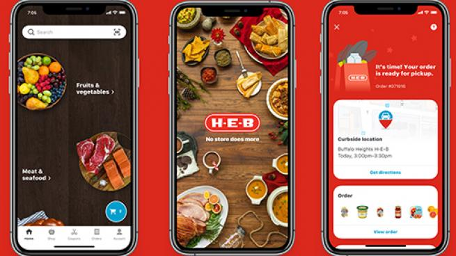 H-E-B Mobile App Gets a Makeover