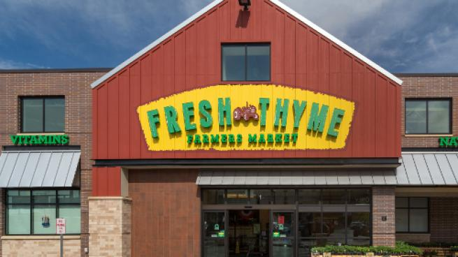 Fresh Thyme Farmers Market Invests in CBD
