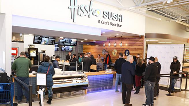 Meijer Introduces In-Store Sushi & Craft Beer Bar