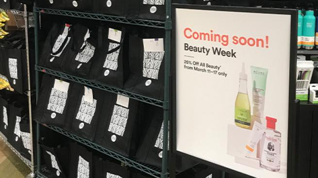 Whole Foods Creates In-Store Excitement for Beauty