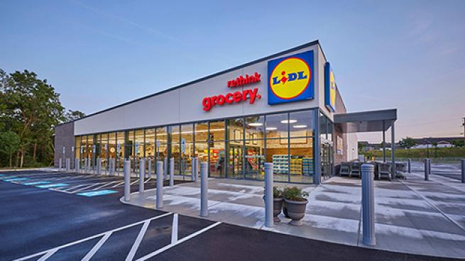 The German discount grocer is investing heavily in fulfillment
