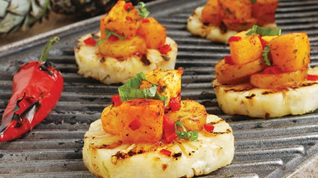 Introducing Customers to Grilling Fruits