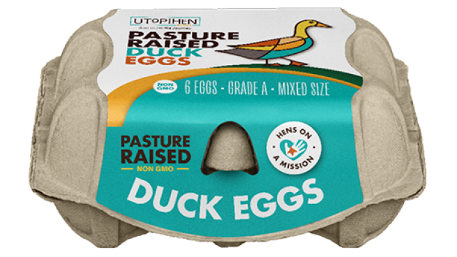 Utopihen Farms Pasture Raised Duck Eggs