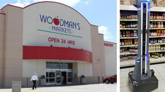 Woodman's Markets Deploys Autonomous Robots