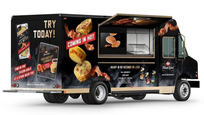Hormel Black Label food truck