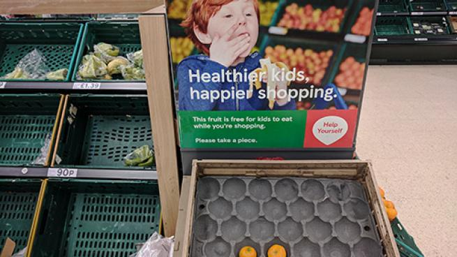 Food Retailers Can Provide a Nudge in the Right Direction