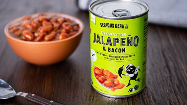 Serious Bean Co Jalapeno & Bacon Beans