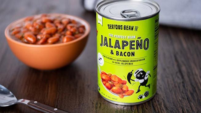 Serious Bean Co Jalapeno & Bacon Beans