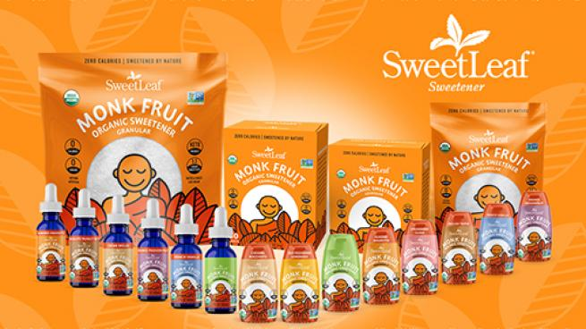 SweetLeaf® Organic Monk Fruit Sweetener