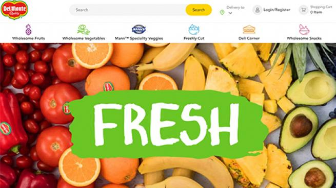 Del Monte Combines DTC Commerce With Same-Day Delivery