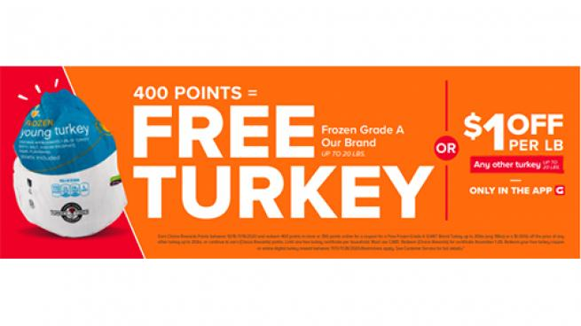 Giant Co. Offers 2nd Helping of Free Turkey and Sides