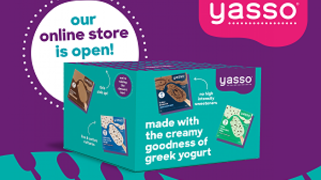 Yasso Greek Frozen Yogurt Launches DTC