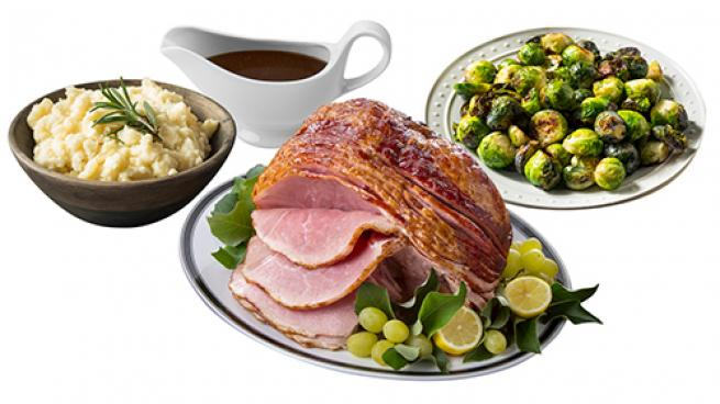 Save Mart Stores Offer Ready-to-Serve Holiday Meals Ham Dinner