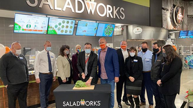 Saladworks Comes to Kroger In-Store Restaurants