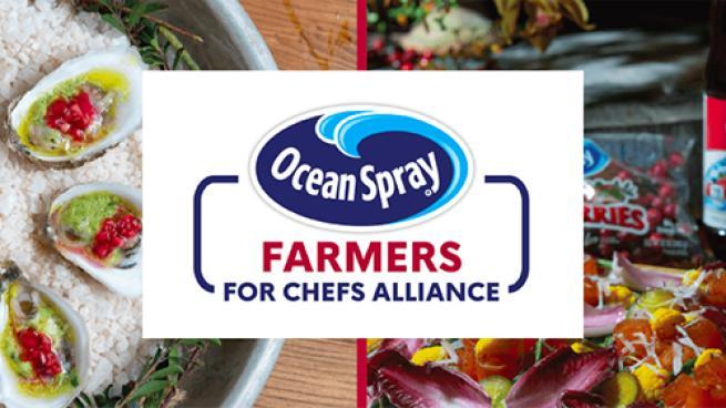Ocean Spray Farmers for Chefs Alliance Launches Restaurants Massachusetts