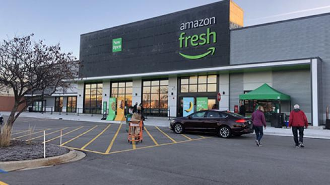 1st Amazon Fresh Location Opens in Midwest Naperville, Illinois, Chicagoland