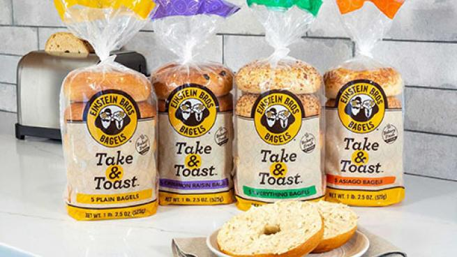 Einstein Bros. Take & Toast Bagels