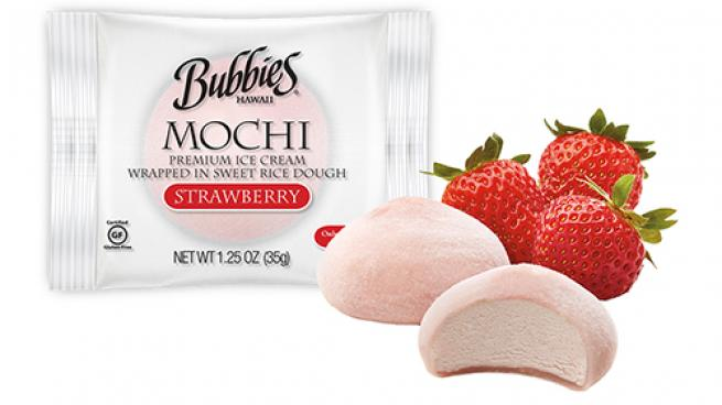 Bubbies Mochi Ice Cream