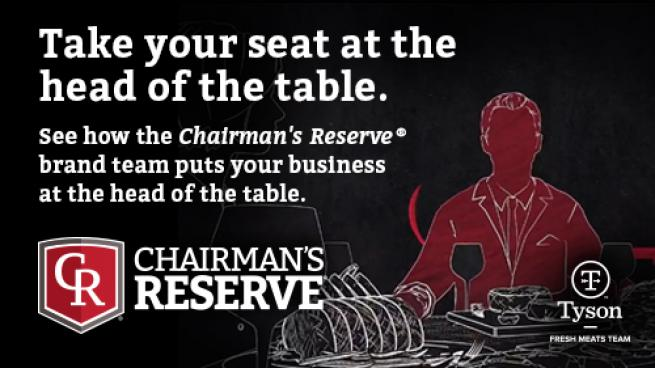 Chairman's Reserve Meats: Take Your Seat at the Head of the Table