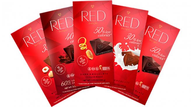 RED Chocolate Bars