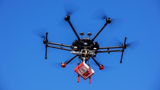 Coca-Cola with Coffee Walmart drone