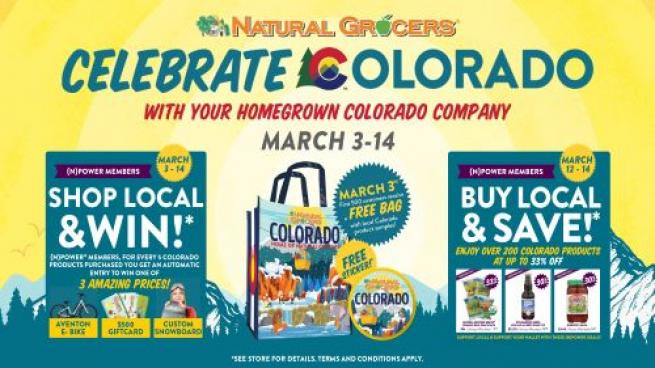 Natural Grocers Celebrates Its Home State Colorado