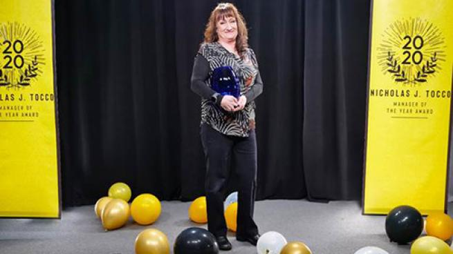 The Save Mart Cos. Reveals 2020 Store Manager of the Year Deborah Woodcock Standing Tall Award COVID-19