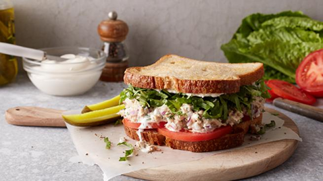 Good Catch Lands at Whole Foods Prepared Food Sections Gathered Foods Plant-Based Tuna Salad