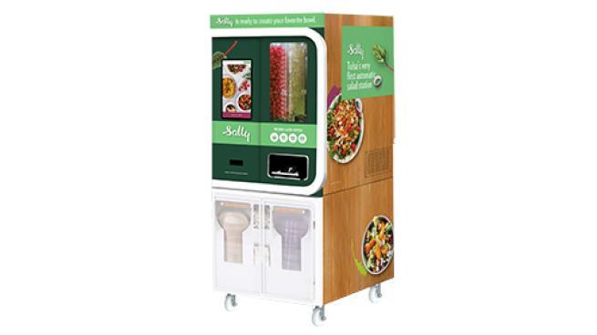 Reasor's Rolls Out Automated Salad Station Sally Chowbotics DoorDash