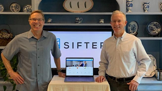 Website Offers New for Dieters to Shop Sifter Thomas and Andrew Parkinson