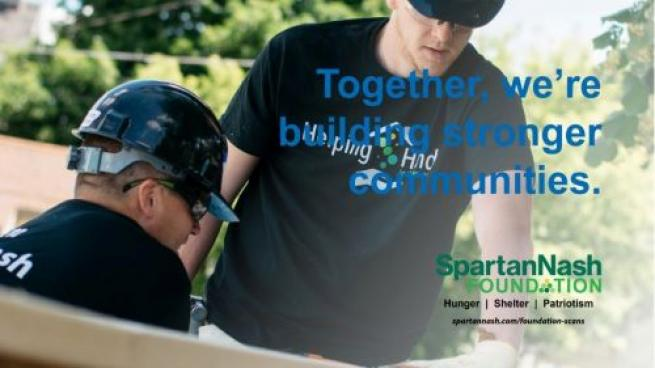 SpartanNash Supports Dream of Homeownership With Habitat for Humanity