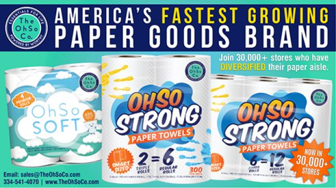 America's Fastest Growing Paper Goods Brand