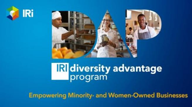 IRI's Diversity Program to Empower Minority- and Women-Owned CPG Businesses