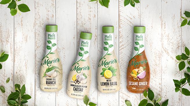 Marie's Plant-Based Salad Dressings