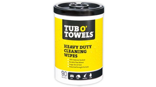 Tub O' Towels Heavy Duty Cleaning Wipes
