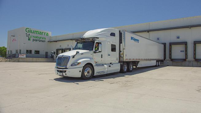 Produce Company, Wholesaler Take Part in Autonomous-Truck Pilot AWG Giumarra Cos. TuSimple