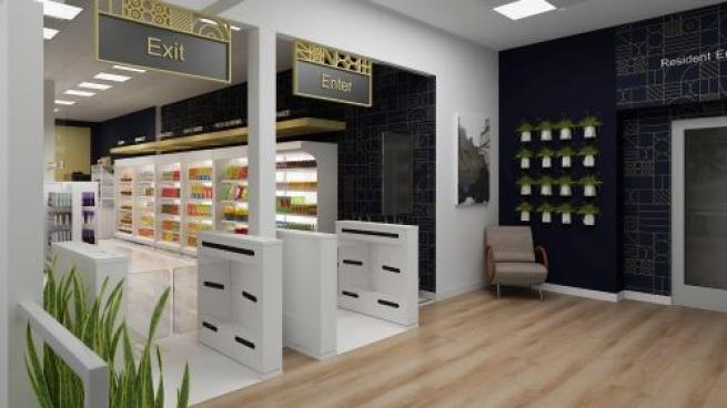 Autonomous Shopping Coming to San Diego High-Rise Community